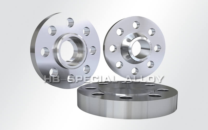 incoloy 825 welded neck blank stocked flange