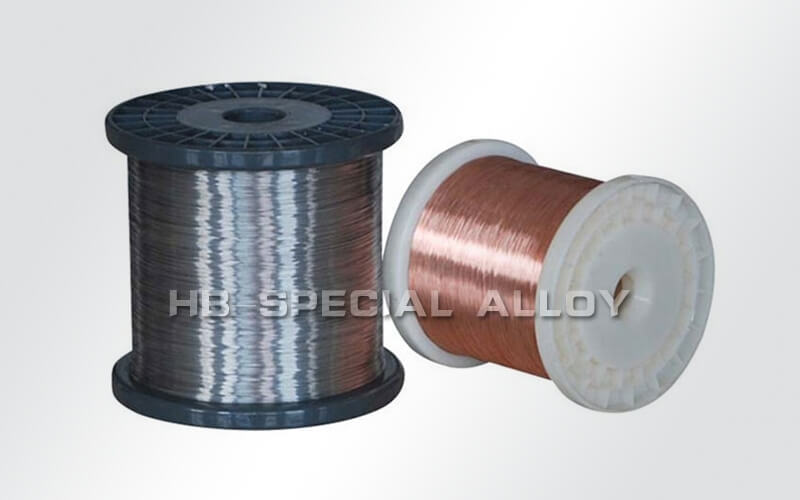 Cu- CuNi (Constantan) thermocouple (Type T) wire