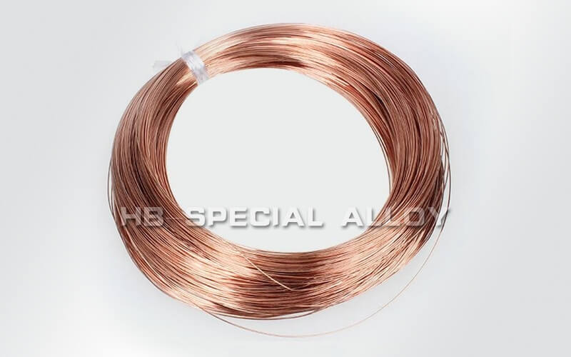 Manganese copper wire heating wire