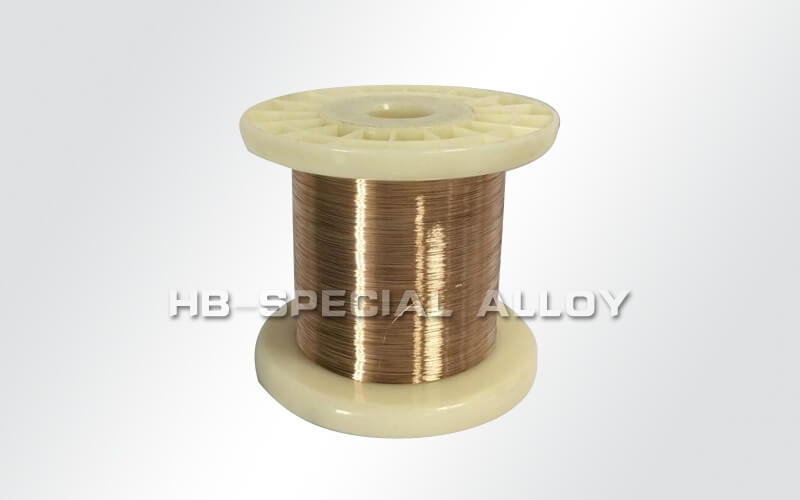 Manganese copper wire precision resistance alloy