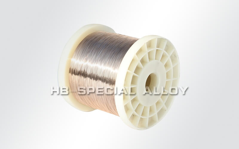 Manganese copper wire heating alloy